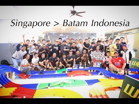 "ミニ四駆 V-Blog #32 ""Batam Indonesia Race"""