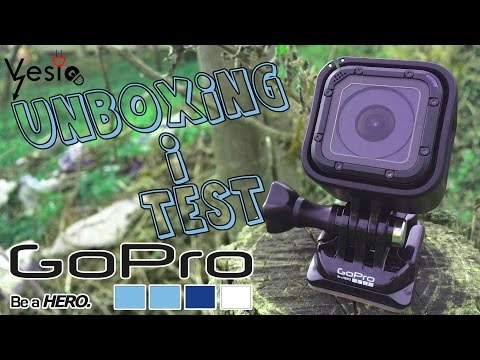GoPro Session 4 Unboxing i test