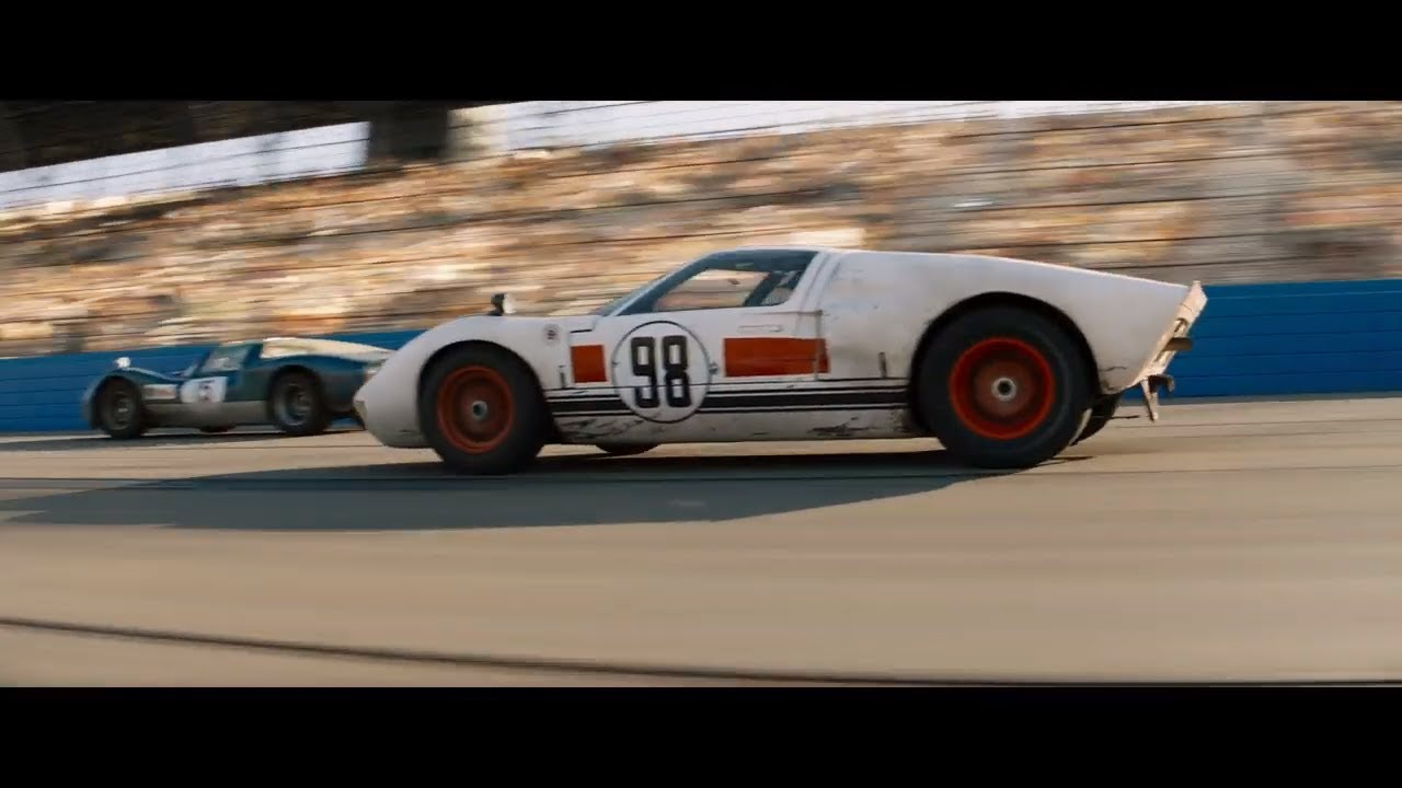 Ford V Ferrari Daytona Scene Gas Gas Gas Youtube