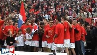 Wisła Kraków Mistrz Polski 2008 2009 koronacja
