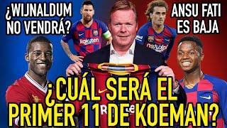 ANSU FATI, BAJA DE ÚLTIMA HORA | ¿DEPAY Y WIJNALDUM NO LLEGARÁN FINALMENTE? | FC BARCELONA VS NÁSTIC