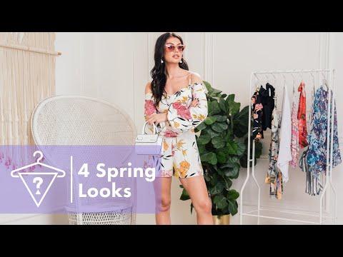 #StyledByGuess 🔻 4 Spring Looks