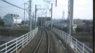 2006年4月西鉄宮地岳線古賀ゴルフ場前→西鉄古賀前面展望