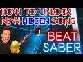 BEAT SABER - How to unlock New SECRET Song (Hidden Easter Egg)
