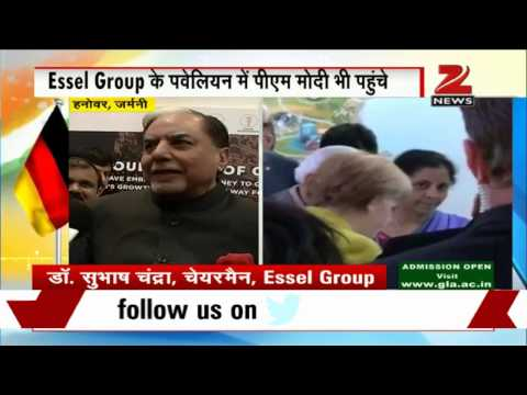 Hannover Trade Fair: Dr Subhash Chandra talks to Zee Media