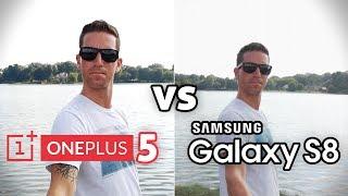 OnePlus 5 vs Galaxy S8!! CAMERA Test Comparison!! (4K)