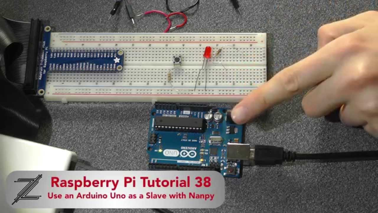 Raspberry pi tutorial use an arduino as a slave with