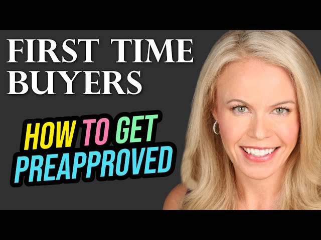 First Time Home Buyers - All About Getting Pre-Approved For Loans