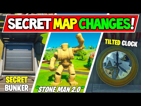 """Fortnite SECRET MAP CHANGES that SURVIVED The End Event """"Black hole"""" in Chapter 2 Season 1!"""
