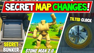 *NEW* Fortnite SECRET MAP CHANGES that SURVIVED The End Event