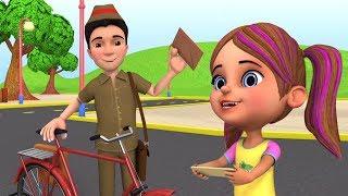 Dakiya Aaya   Little Treehouse India   डाकिया आया   Hindi Rhymes For Babies   Balgeet songs