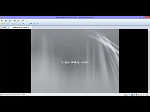 Windows Home Server 2011 Installation In Vmware Workstation- Windows Home Server 2011 Kurulumu