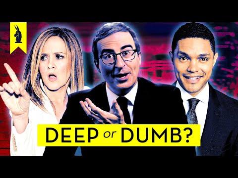 COMEDY NEWS: Is It Deep Or Dumb?