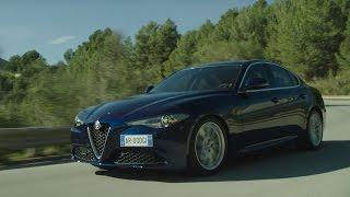 Alfa Romeo Giulia 2016 (driving video)