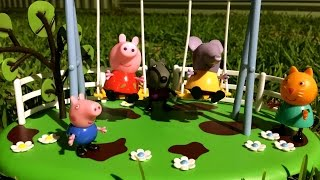 Peppa Pig Pics - Peppa Pig Swing Playground Playset