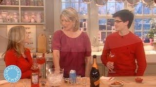 Blood Orange Cocktail Recipe For Valentine's Day - Martha Stewart