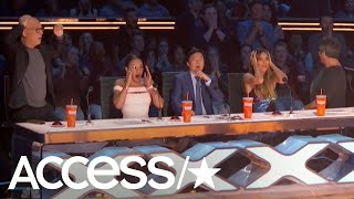 'America's Got Talent' Couple's Trapeze Stunt Nearly Turns Deadly | Access