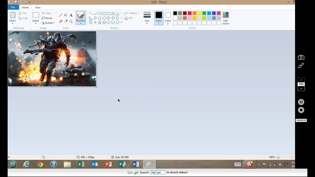 How to Resize an image (Windows 8) HD