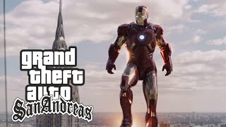 Iron man mod for gta sa android