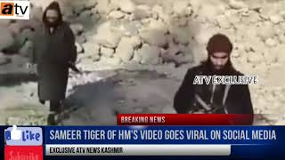 Sameer Tiger of HM's top commander video goes viral on social Media