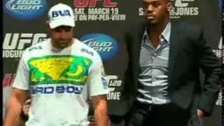 Maurício Shogun bastidores UFC 128