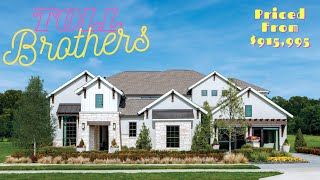 Toll Brothers : Dallas - Fort Worth Model House Tour