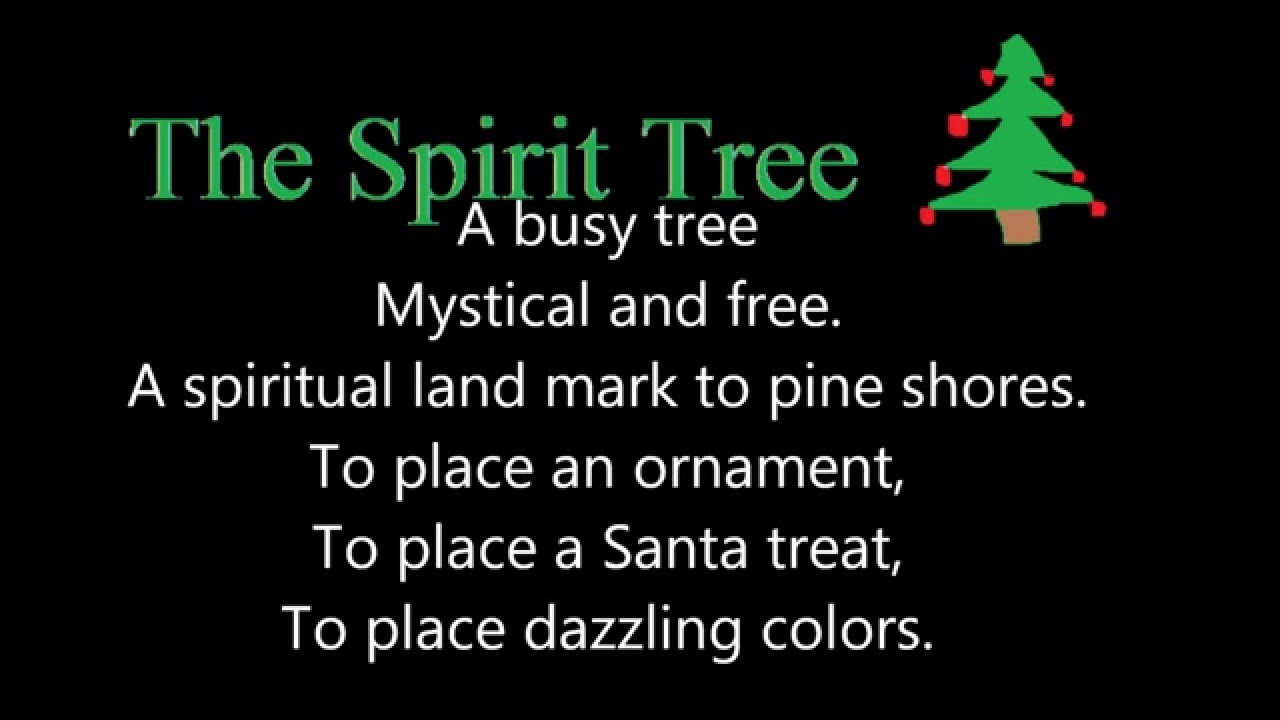 The Spirit Tree (A Christmas Free Verse Poem) - YouTube