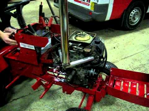hqdefault wheel horse 20 hp v twin kohler command youtube  at creativeand.co