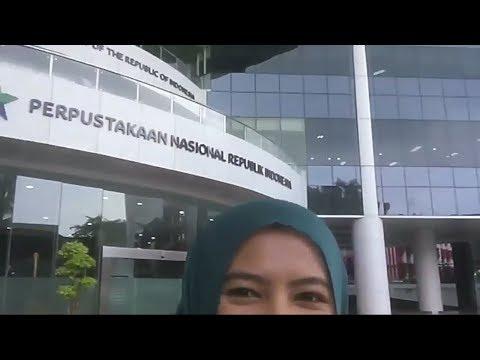 Perpustakaan Nasional Republik Indonesia, Gambir, Jakarta - National Library - Bibliothek