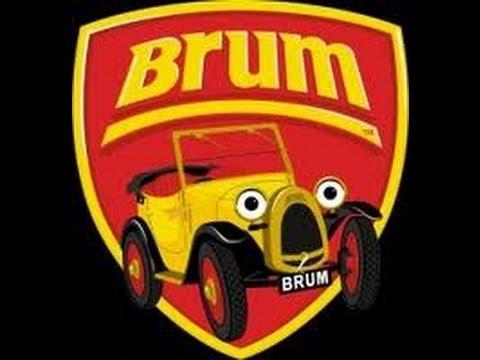 Brum And The Runaway Train Youtube