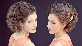 Причёска на бок | Авторские причёски | Лена Роговая | Hairstyles by REM | Copyright ©