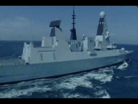 BAE Systems - Type 45 Destroyer & Astute Class Nuclear Submarine Sea Trials [480p]