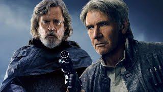 Mark Hamill on The Last Jedi Cutting Luke's Reaction to Han Solo's Death