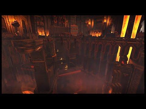 Battle At The Lava Falls - Karak Ungor Under Siege | Warhammer Total War Gameplay