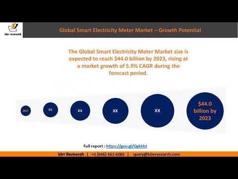.2017年全球智慧電表出貨量達 1.7 億台