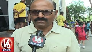 Sports Authority Of Telangana State Contract Coaches Demands For Regularization | V6 News