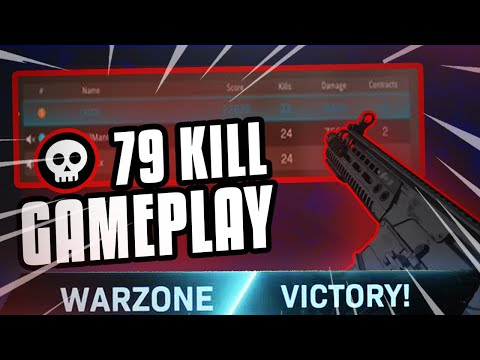 HOW TO WIN WARZONE GAMES (79 KILL GAMEPLAY) WORLD RECORD ATTEMPT!!!
