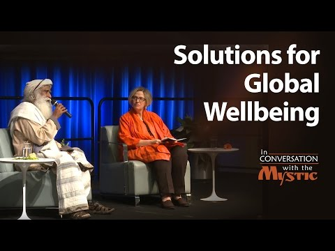 Solutions for Global Wellbeing – Sadhguru in Conversation wi
