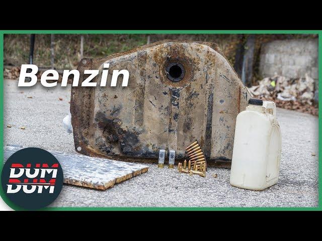 Da li metak može da zapali benzin?
