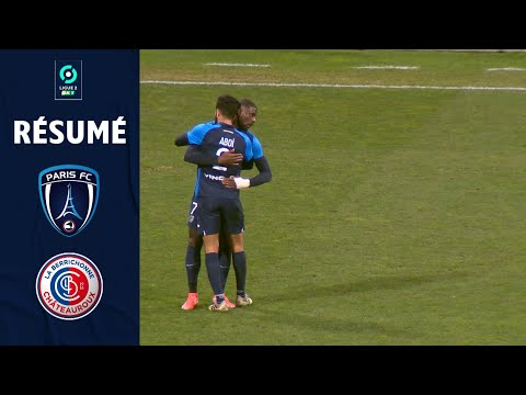 Paris FC Chateauroux Goals And Highlights
