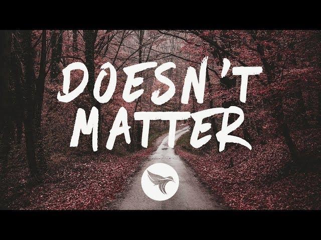 Gallant - Doesn't Matter (Lyrics) Rynx Remix