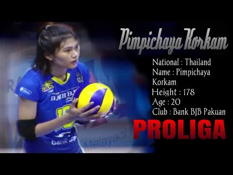 Highlights Pimpichaya korkam |proliga 2018/2019 | bank Bjb pakuan Mp3