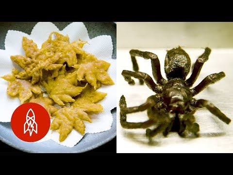 Dre - Deep Fried Scorpions, and Spiders For Lunch??!