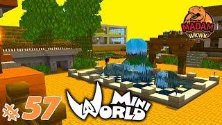 Mini World Block Art | MAMPiR KE MAP YOUTUBER 😁