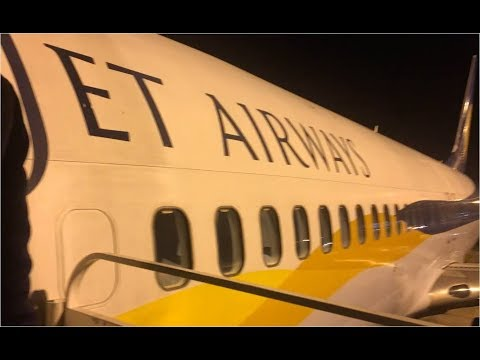 JetAirways Economy Class Muscat to Mumbai 9W539 in Boeing 737