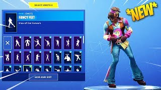 *NEW* FAR OUT MAN & DREAMFLOWER SKINS WITH +50 DANCES/EMOTES! Fortnite Battle Royale
