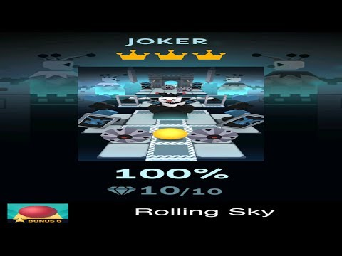 Rolling Sky Bonus 6 - Joker - Completed All Diamonds And Crowns
