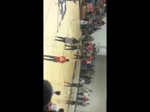 Berkmar high school  last pep rally -Dance team