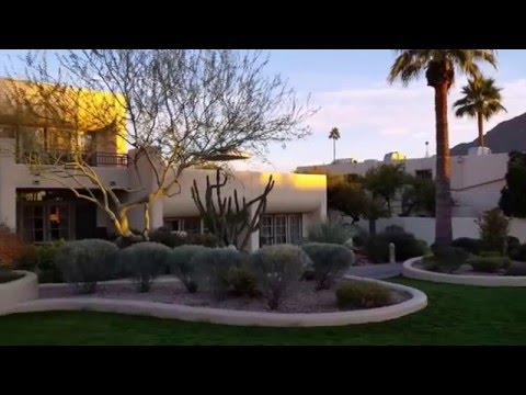Camelback Inn. Marriot Resort. Arizona Scottsdale