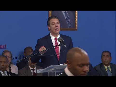 Governor Cuomo Delivers Remarks at National Action Network King Day Public Policy Forum